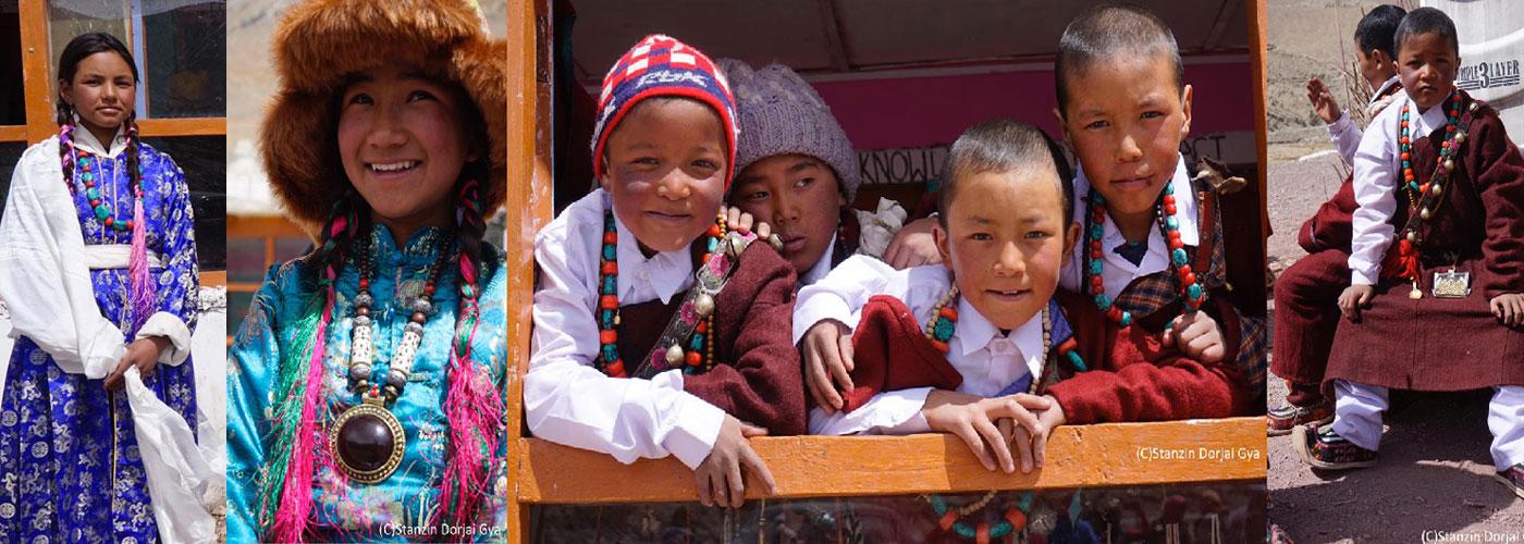 chants et dans ladakh