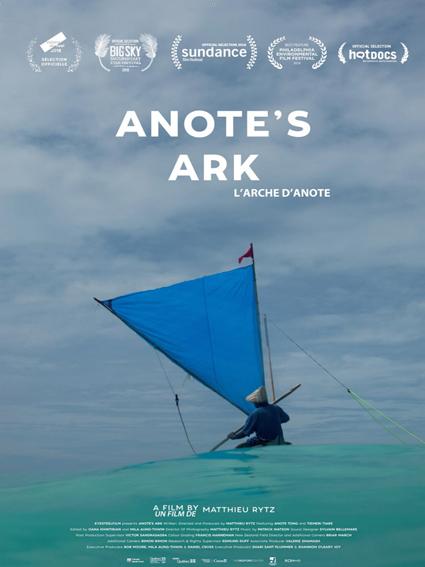 L Arche d Anote, Matthieu Rytz, Eye Steel, Océan Pacifique République insulaire des Kiribati, changement climatique, Film Canada, festival explorimages nice film nature et aventure