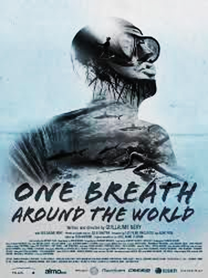 One Breath Around The World, Guillaume Néry, Julie Gautier, champion du monde apnée, festival explorimages nice film nature et aventure
