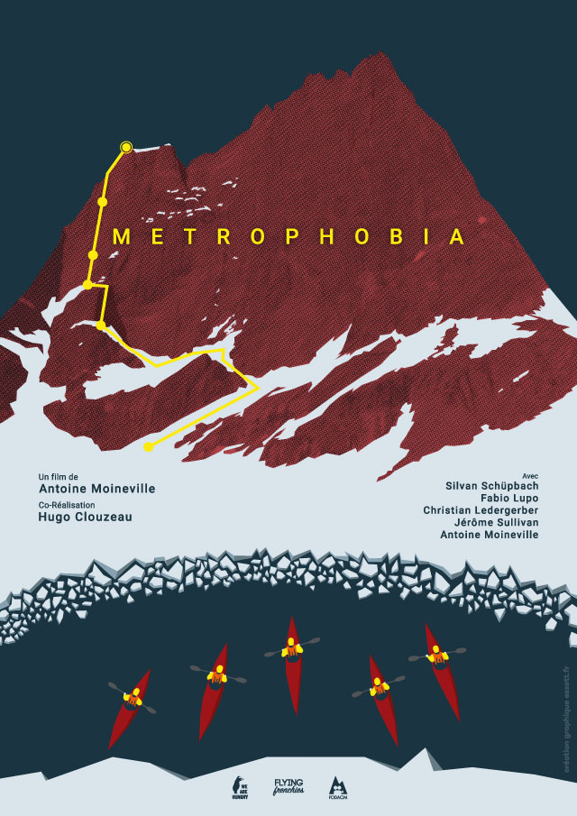 metrophobia, Antoine Moineville, Hugo Clouzea, We are Hungry, alpinistes, kayac, bigwalss groenland, Tommelfinger, festival explorimages nice film nature et aventure